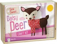 Sew Sweet: Daisy Deer Wooden Box