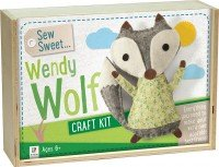 Sew Sweet: Wendy Wolf Wooden Box