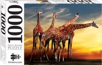 Giraffes, Open-air Zoo France 1000 Piece Jigsaw