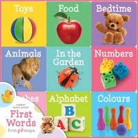 First Steps Chunky Board Books: First Words