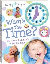 First Steps What's the Time Clock Book