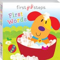 First Steps Board Book: First Words