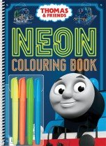 Thomas Neon Colouring with Highlighters