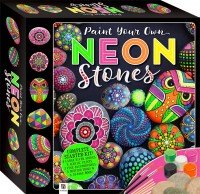 Paint Your Own Neon Stones Small Kit