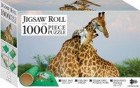 Pair of Giraffes 1000-piece Jigsaw with Mat