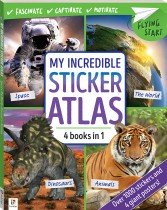 Flying Start My Incredible Sticker Atlas