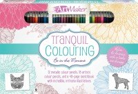 Art Maker Tranquil Colouring 30-Pencil Set