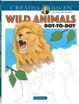Creative Haven Wild Animals Dot-To-Dot