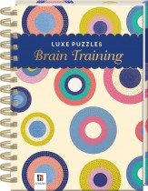 Luxe Puzzle Book Brain Training