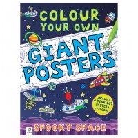 Colour your own Giant Posters: Spooky Space