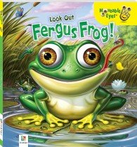 Moveable Eyes Look Out Fergus Frog