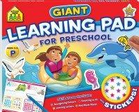 School Zone Giant Learning Pad: Preschool