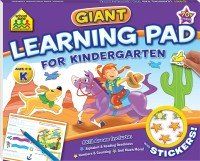 School Zone Giant Learning Pad: Kindergarten