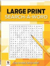 Search-a-Word 1 (yellow) Large Print Puzzles Series 4