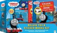 Thomas Deluxe Toy & Sticker Book Set