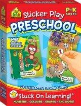 School Zone Interactive Flash Cards: Sticker Play Preschool