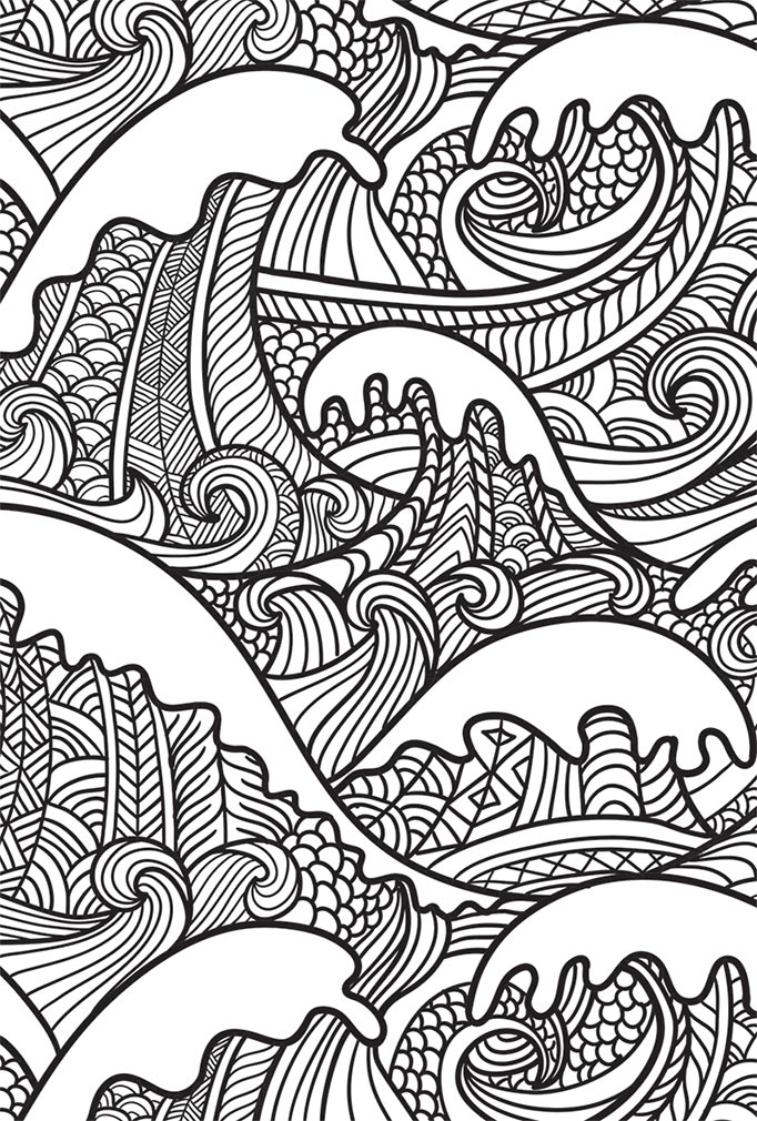 Neon Colouring Sea Creatures And More