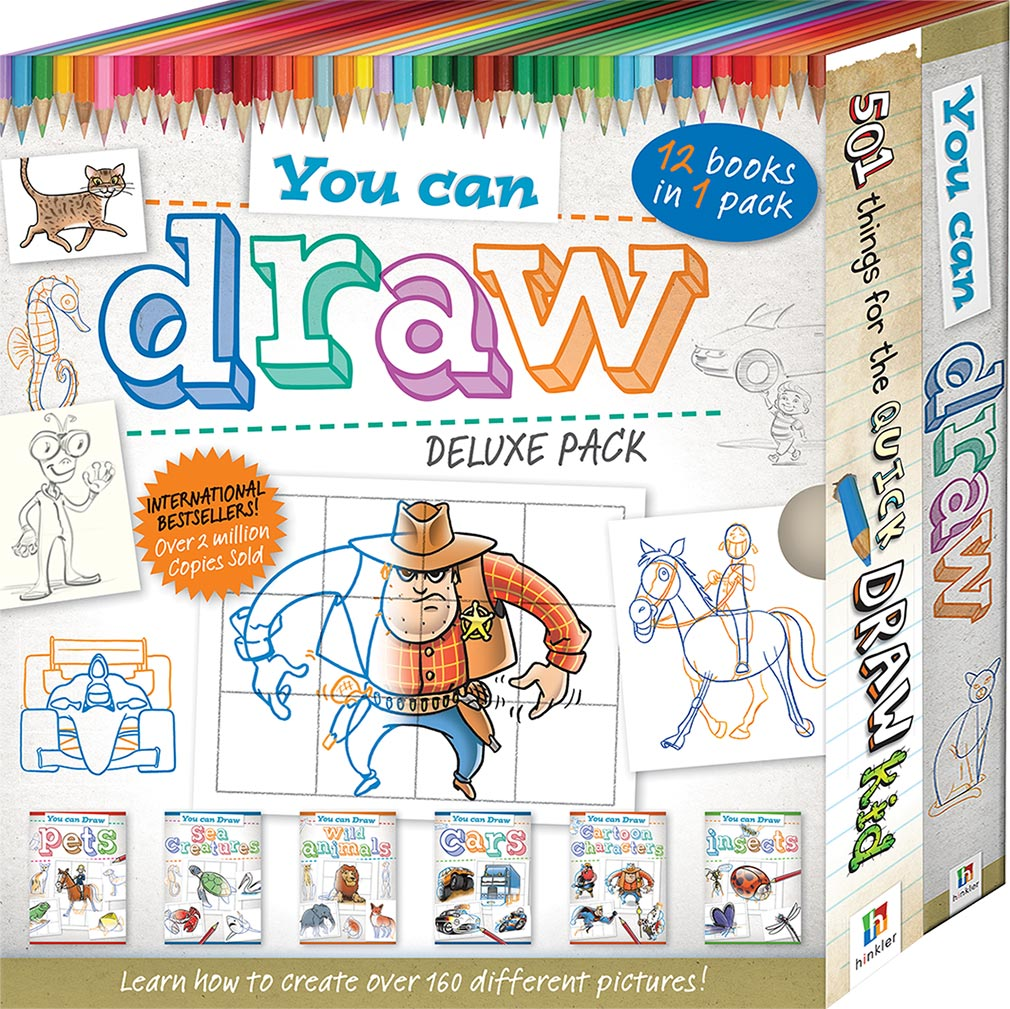 You Can Draw Twin Binder Pack