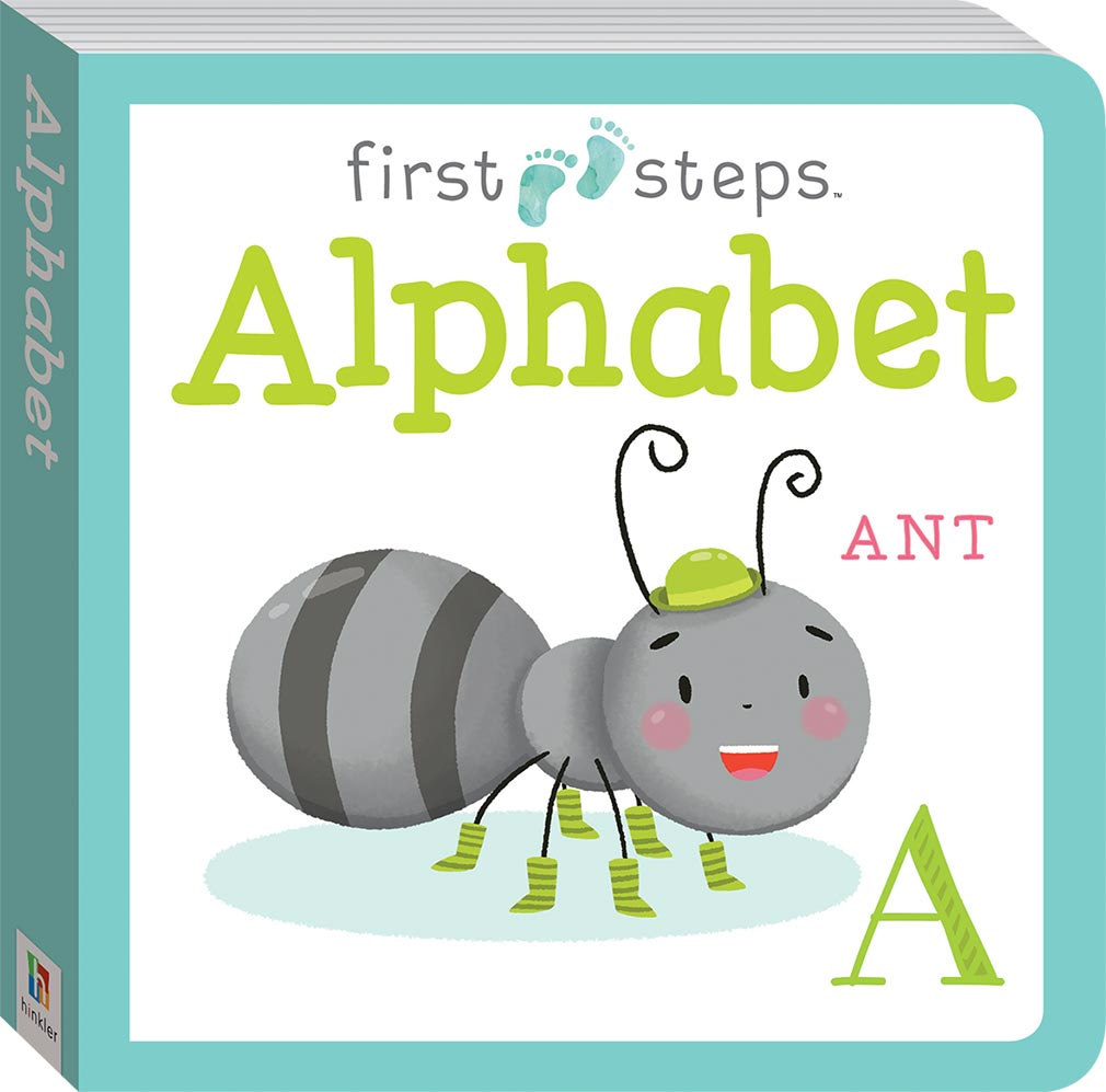 First Steps Large Board Book Alphabet