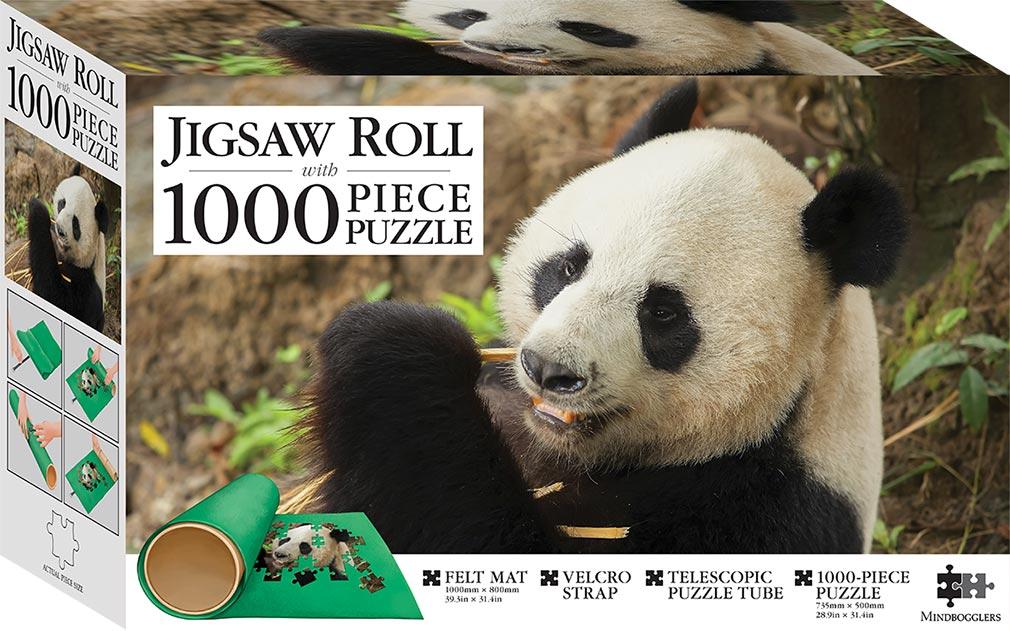 Panda Thailand 1000 Piece Jigsaw With Mat 1000 Piece
