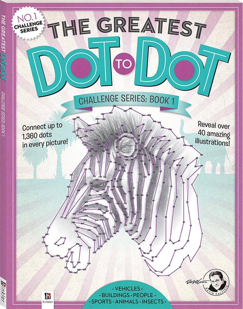 the greatest dot to dot challenge series book 1 dot to dot