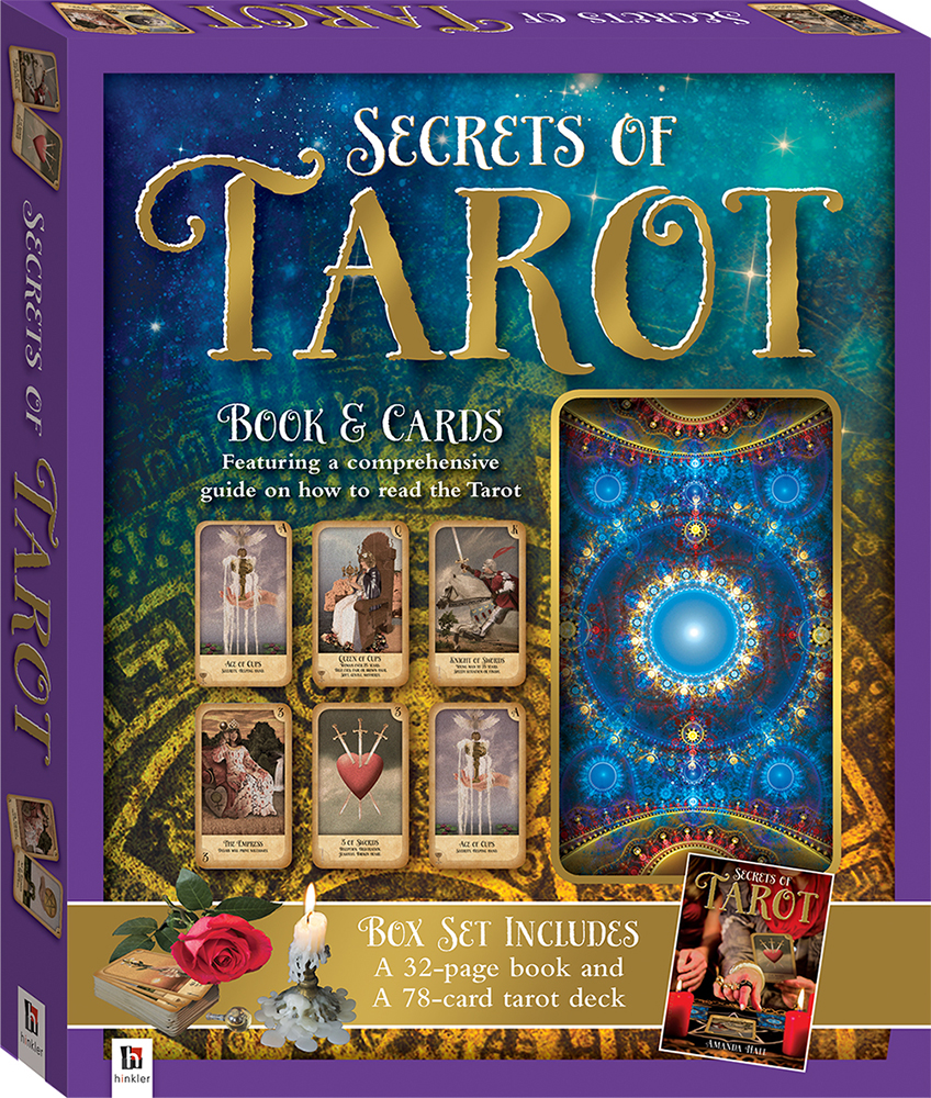 secrets of tarot cased gift box - gift sets - adults