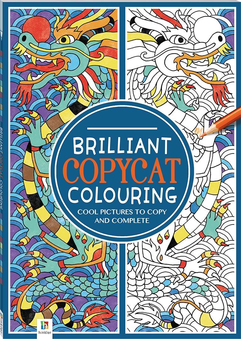 Art therapy coloring book michael omara - Michael Omara Coloring Books Michael O Mara Brilliant Copycat Colouring