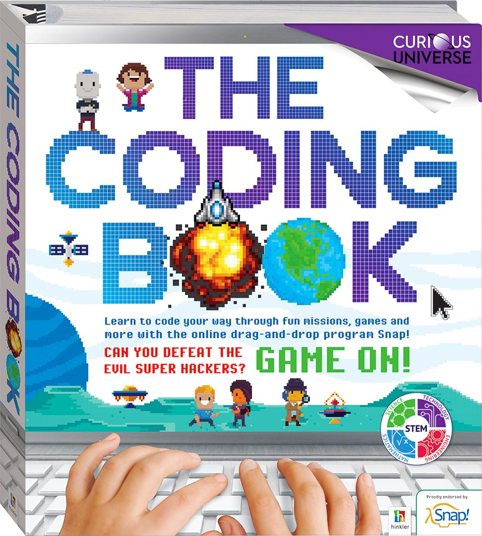 The Coding Book - Reference - Children - Hinkler