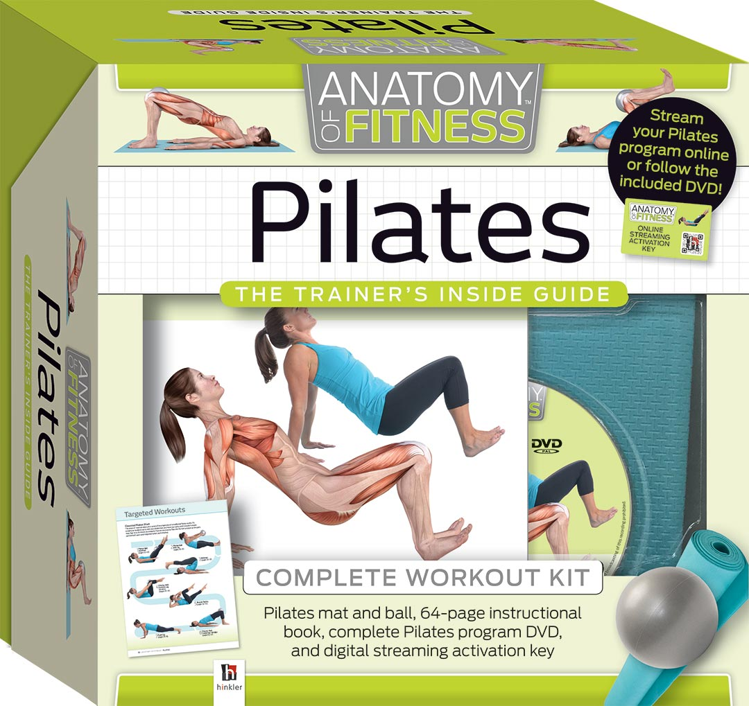 Anatomy Of Fitness Complete Pilates Workout Kit Reference