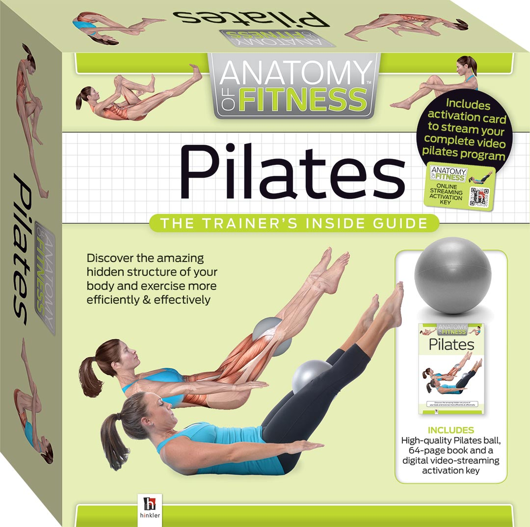 Anatomy of Fitness: Pilates - Reference - Adults - Hinkler