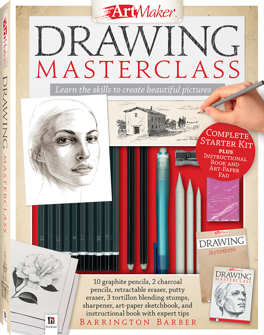 Art Maker Drawing Masterclass Kit - Art Kits - Art + Craft - Adults ...