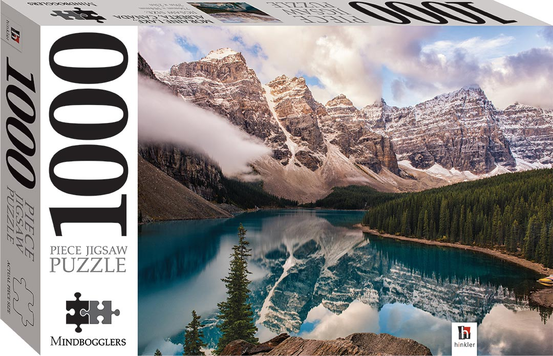 Moraine Lake Alberta Canada 1000 Piece Jigsaw 1000