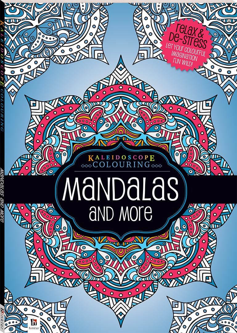 Kaleidoscope Colouring: Mandalas and more - Books - Adult Colouring ...