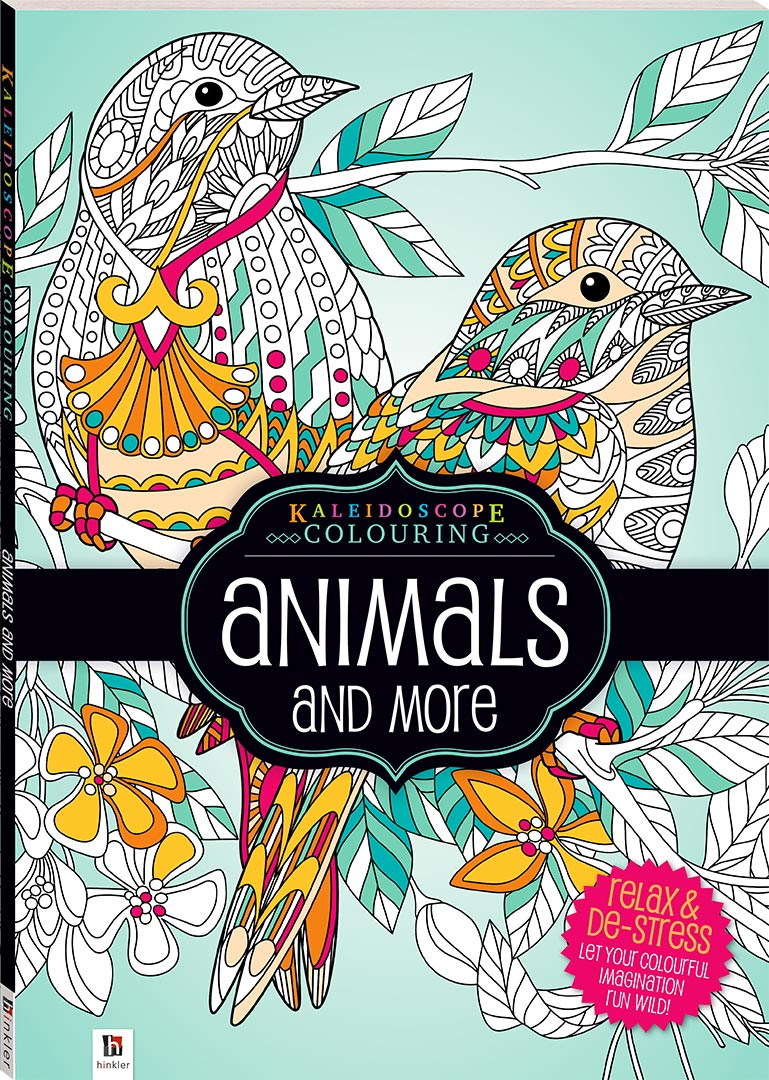 Kaleidoscope Colouring Animals And More Books Adult Colouring