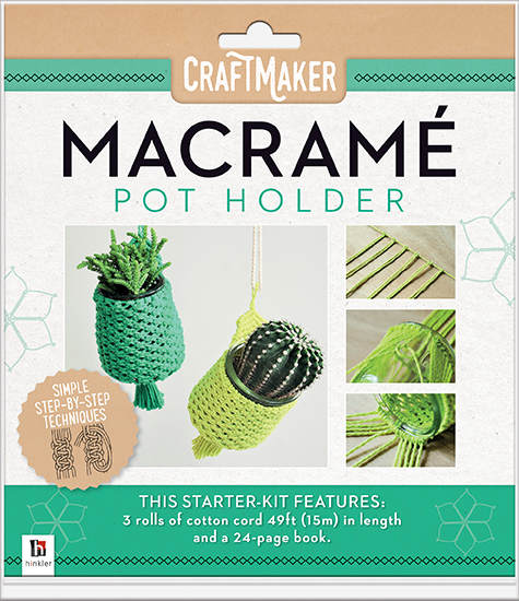 macrame pot holder instructions