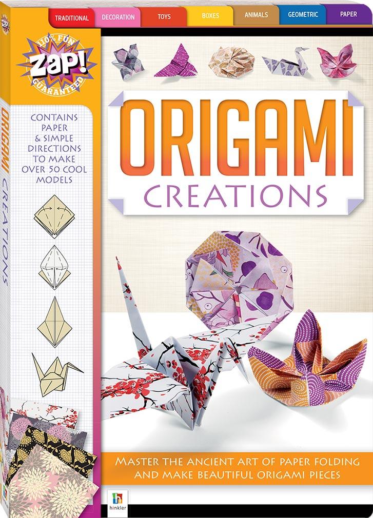 Zap Origami Creations Origami Art Craft Children Hinkler
