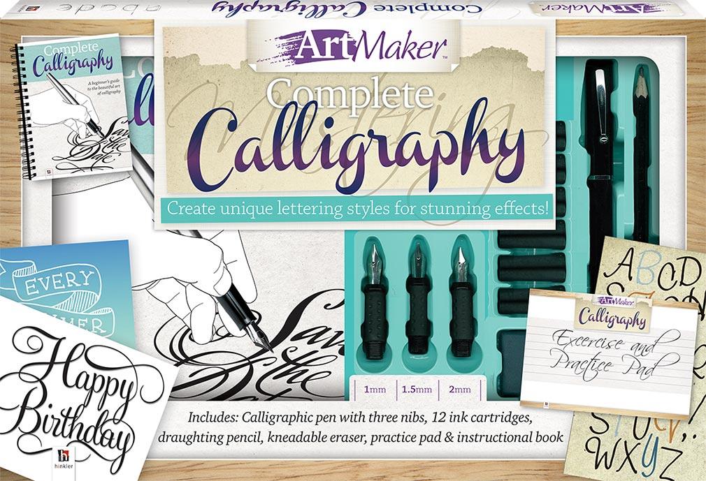 Art Maker Complete Calligraphy Kit Art Kits Art