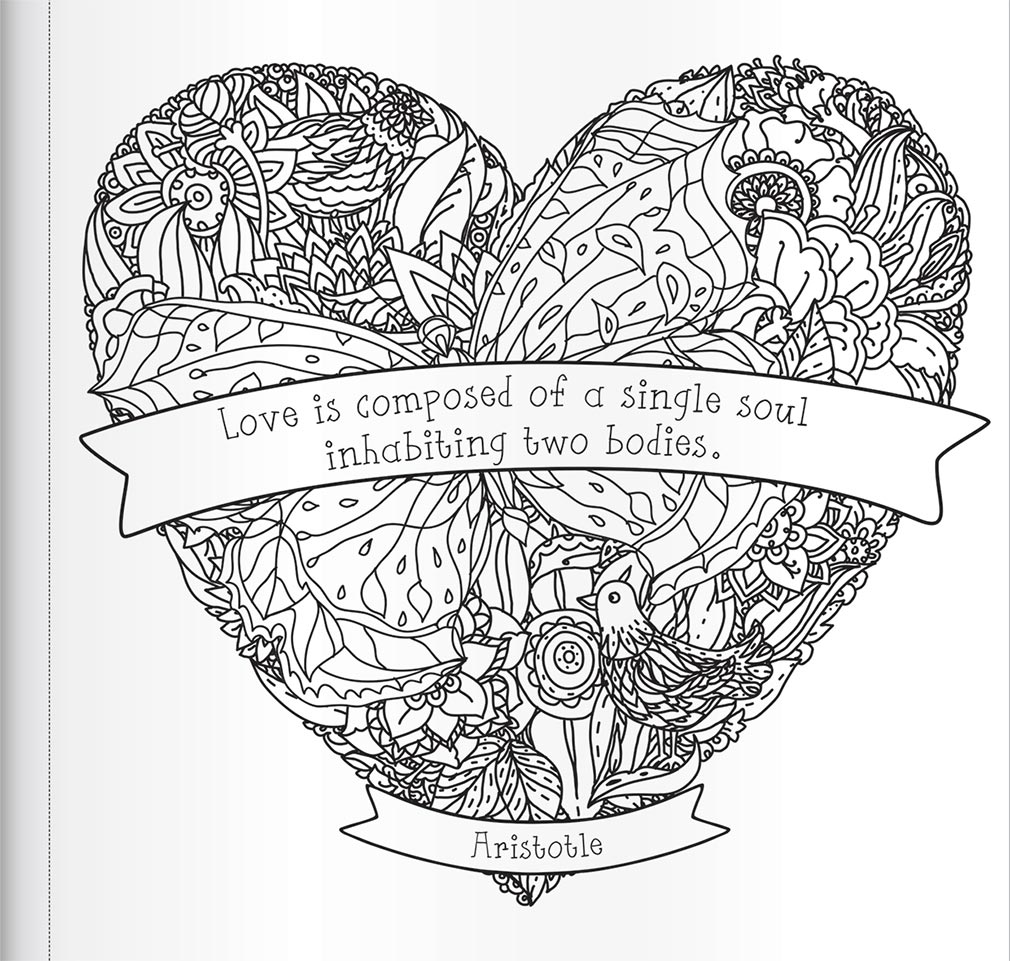 My Heart is Like a Singing Bird: Inspiring Quotes to Colour ...