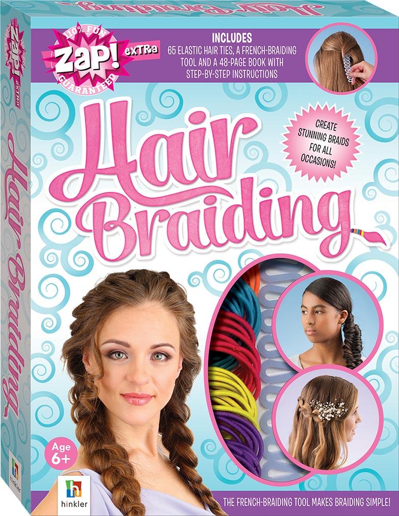 Zap Extra Hair Braiding Activity Kits Games Toys Hobbies
