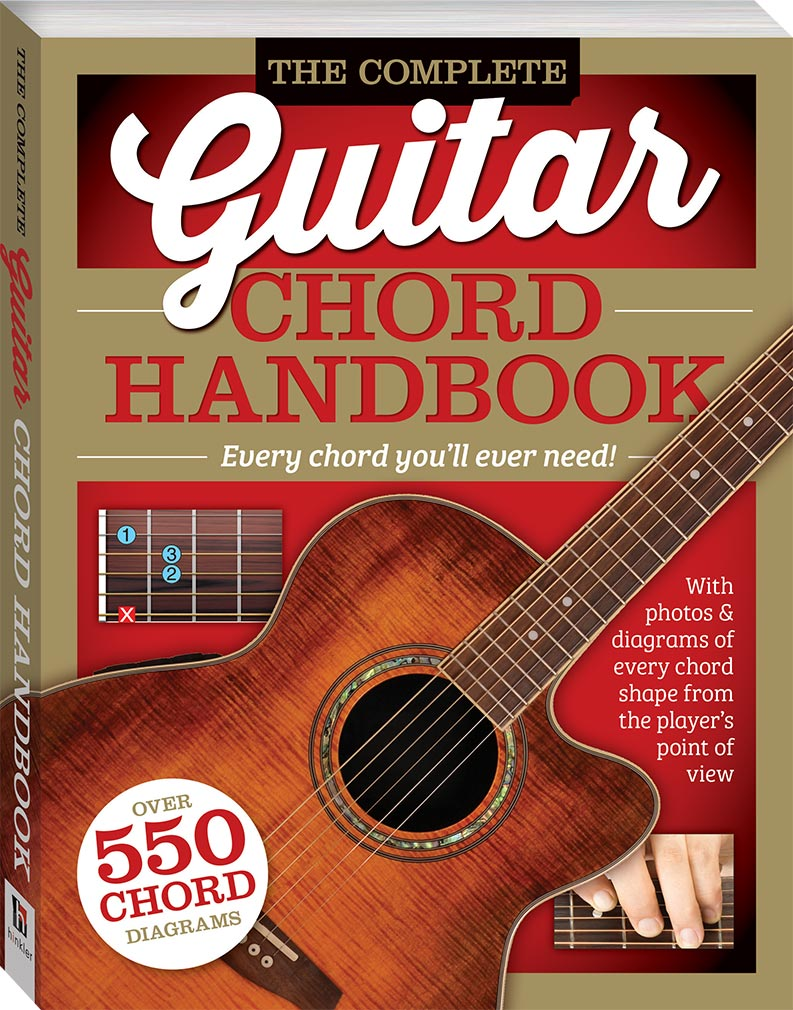 complete guitar chord handbook music adults hinkler