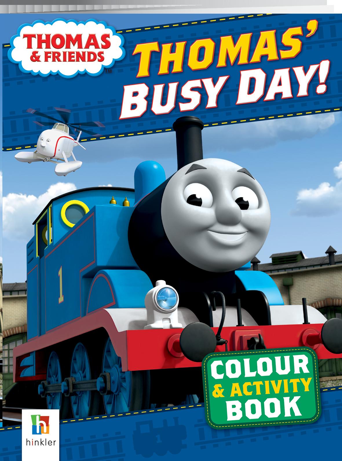 Thomas Sticker and Activity Box Activity Colour