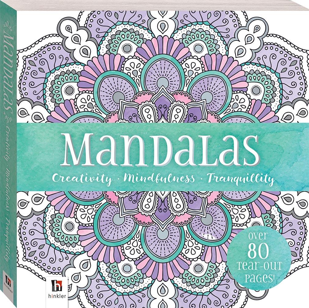 Mini Mindfulness Mandalas Colouring Book