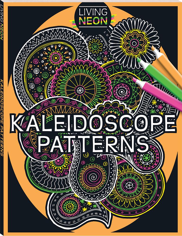 Living Colour Kaleidoscope Patterns Books Adult Colouring Simple Kaleidoscope Patterns