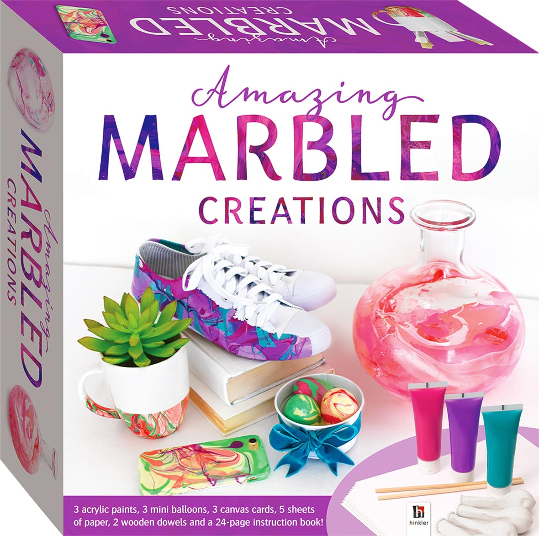 Amazing Marbled Creations Craft Kit Craft Kits Art Craft