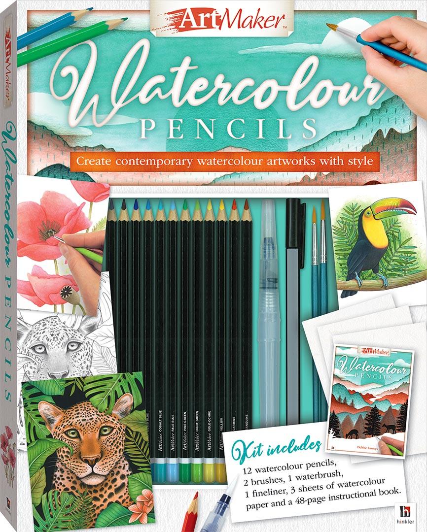Art Maker Watercolour Pencils (Portrait) - Art Kits - Art ...