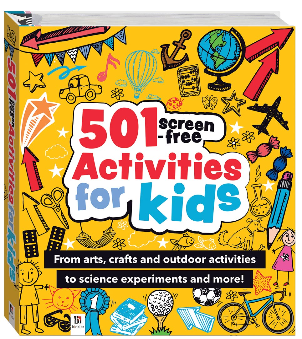 501 Screen Free Activities For Kids Parenting Adults Hinkler