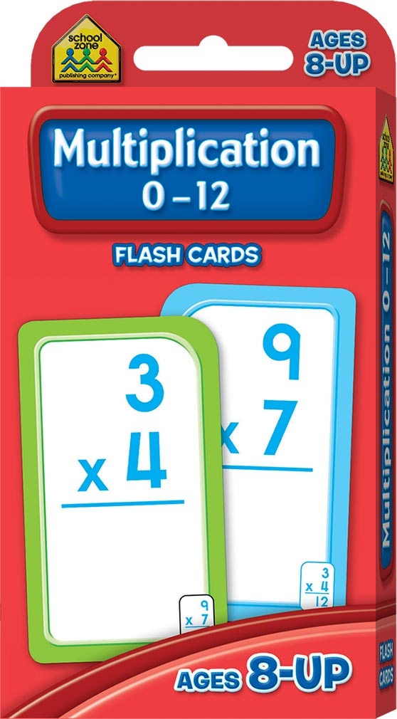 It's just a photo of Epic Printable Multiplication Flash Cards 0-12