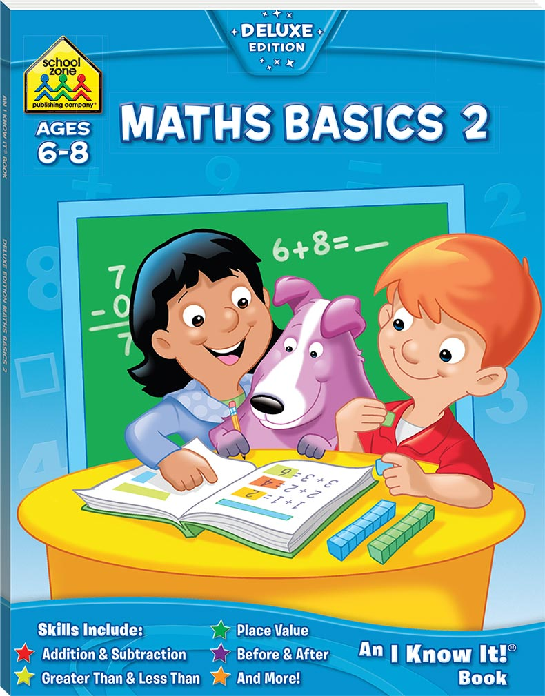 School Zone Maths Basics 2 I Know It Book - Maths - Educational ...
