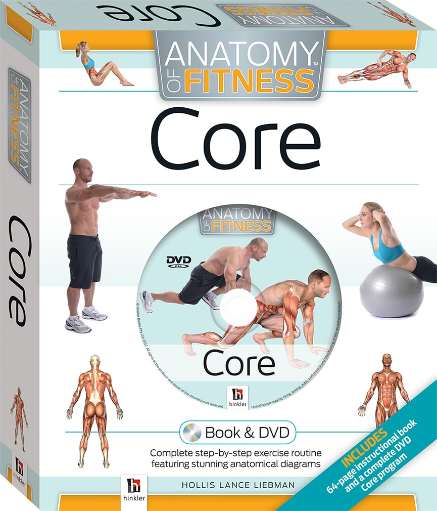 Core Anatomy of Fitness Book and DVD (PAL) - Book & DVD Kits ...