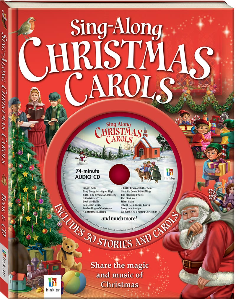 Sing Along Christmas Carols Book and CD - Picture Books - Picture ...